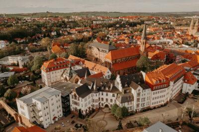 Heilbad Heiligenstadt Bergschule Luftbilder