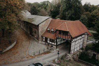 Kloster Anrode Eichsfeld Luftaufnahmen
