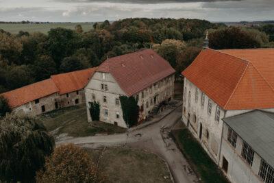 Kloster Anrode Eichsfeld Luftbilder