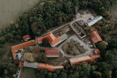 Kloster Anrode Luftbilder