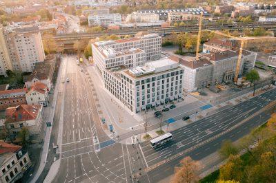 Luftbild Freigeist Sparkasse Göttingen