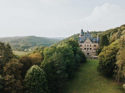 Luftbilder Schlosshotel Wolfsbrunnen Eschwege